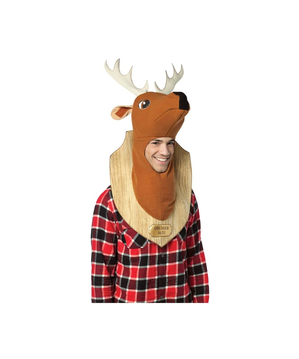 Trophy Head Deer Costume