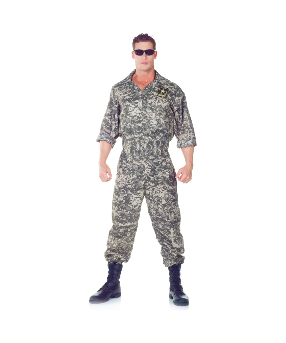 Us Army Adult Costume  sc 1 st  Wonder Costumes & Army US Adult Costume - Men Army Costumes