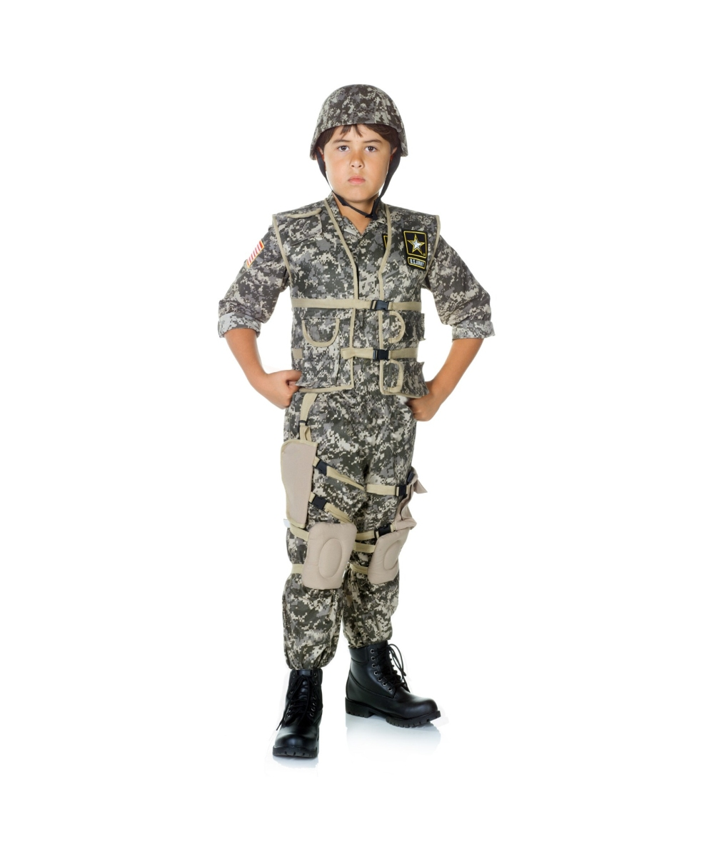sc 1 st  Wonder Costumes & Army US Soldier Kid Costume - Boy Army Costumes