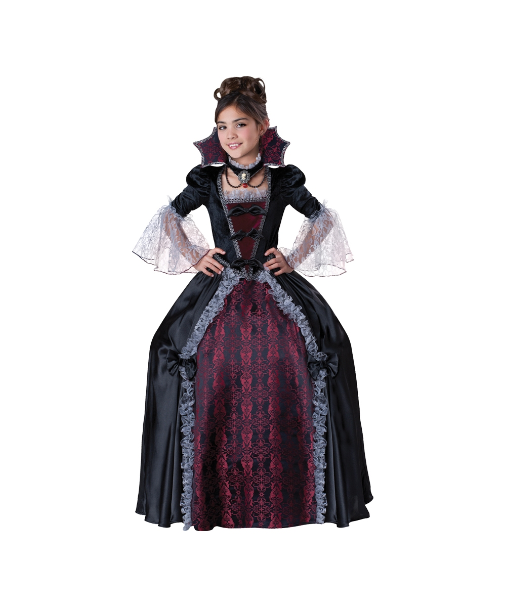 Vampiress of Versailles Girl Halloween Costume