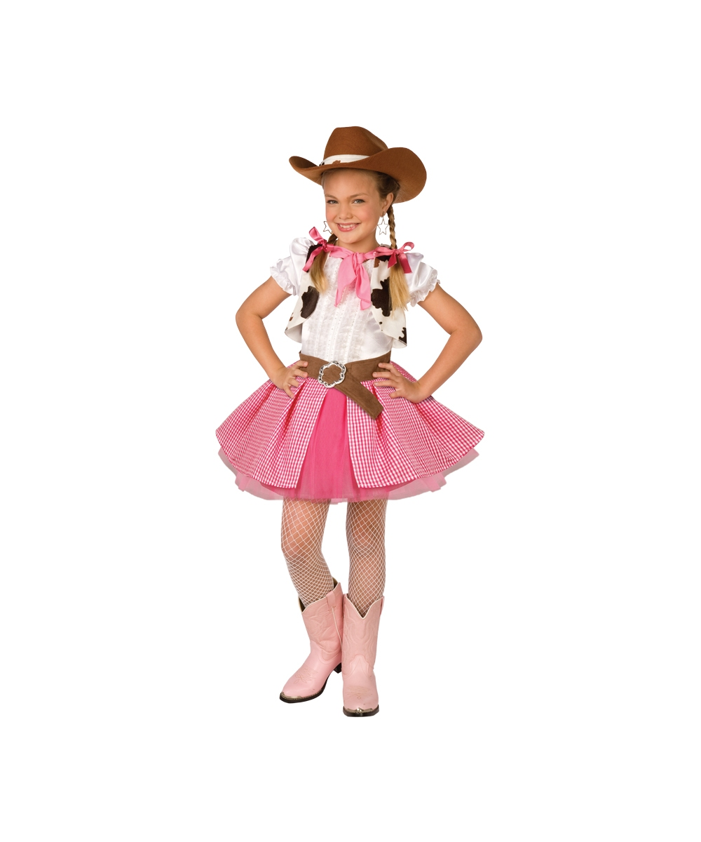 Cowgirl Cutie Costume for Kid - Gowgirl Costumes Disney Princess Costumes For Women