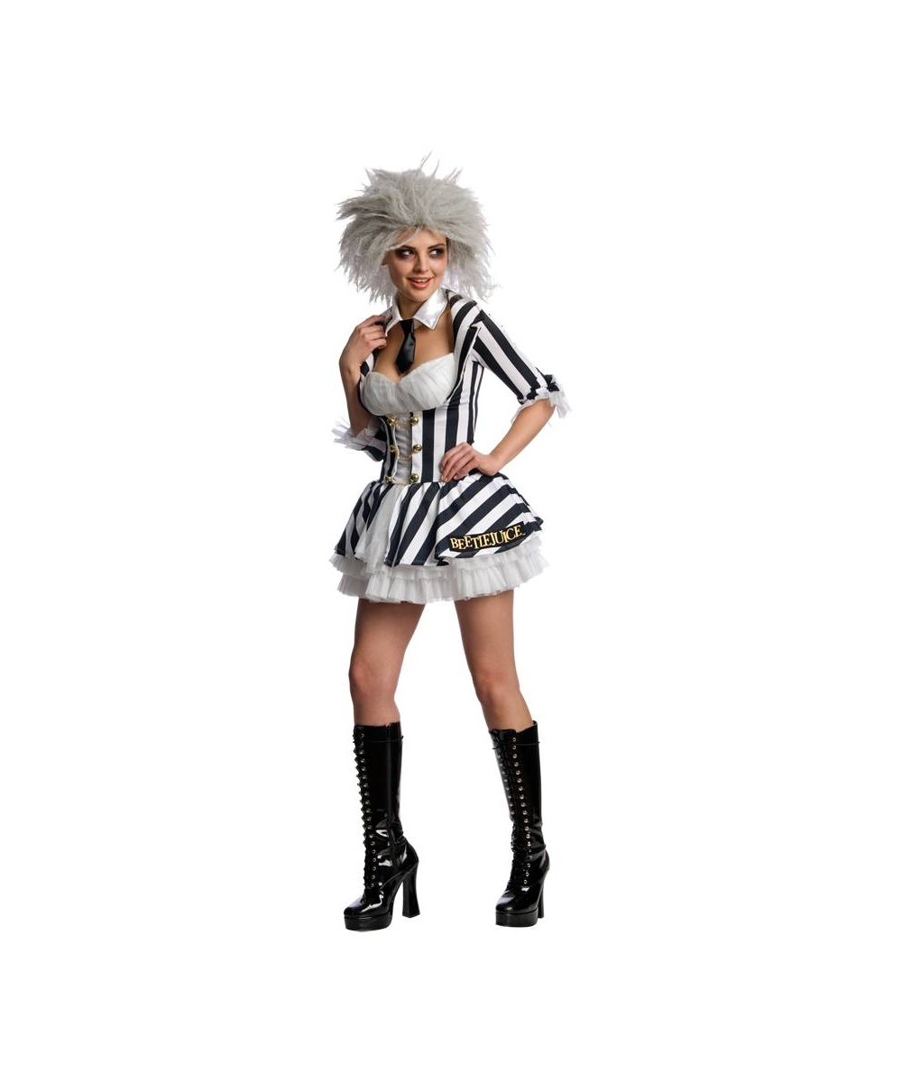 Womens Beetlejuice Costume