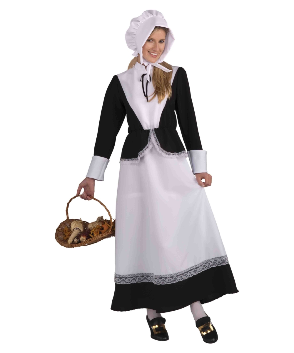 Adult Pilgrim Lady Colonial Costume Pilgrim Thanksgiving