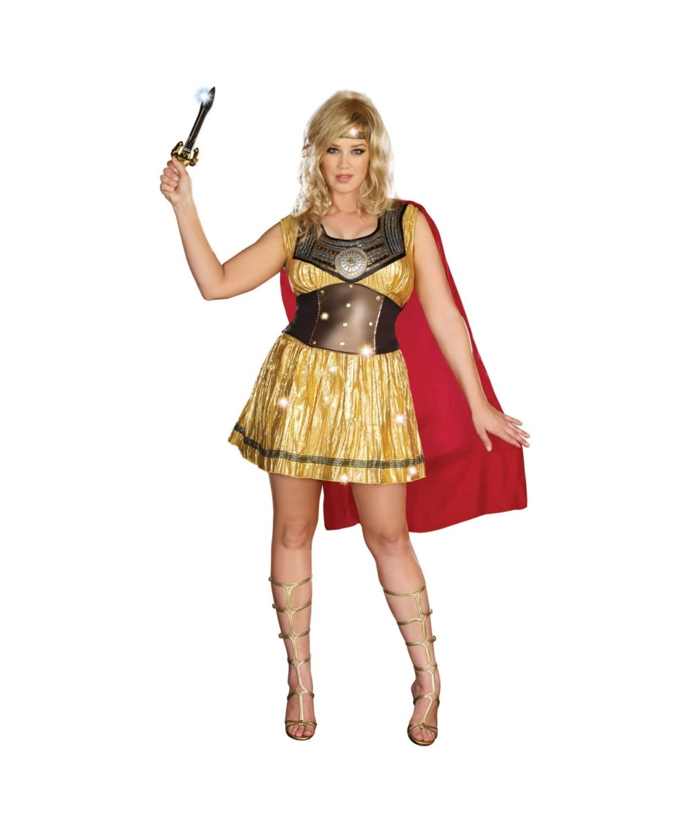 Womens Warrior plus size Costume