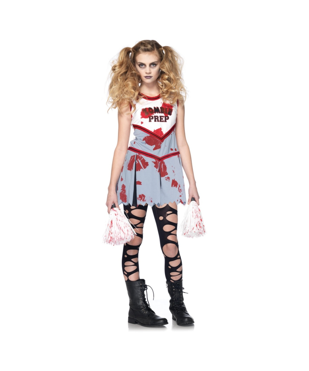 sc 1 st  Halloween Costumes & Zombie Cheerleader Kids Costume - Girls Costumes