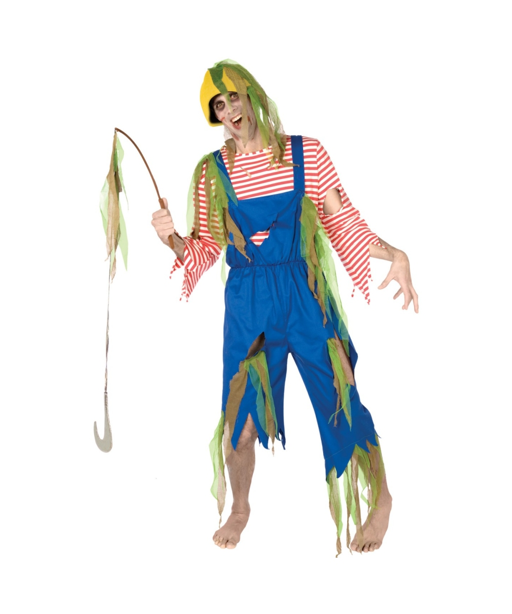 sc 1 st  Wonder Costumes & Zombie Fisherman Adult Costume - Menu0027s Costumes