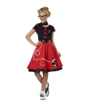 50s Sweetheart Girls Costume