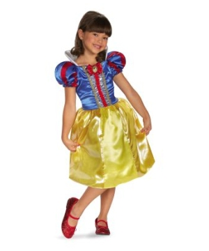 Snow White Sparkle Disney Girls Costume