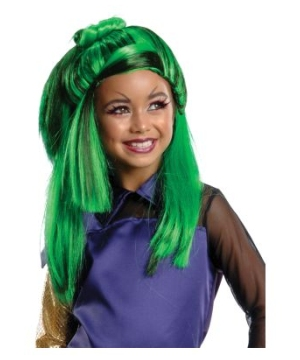 Jinifire Long Monster High Kids Wig