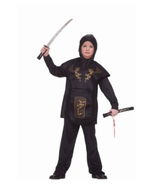 Ninja Boy Kids Costume