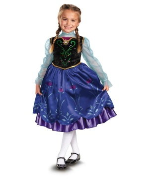 Disney Frozen Anna Toddler/ Girls Costume deluxe