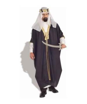 Black Arab Sheik Men Costume