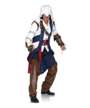 Assassin Connor Mens Costume Theatrical