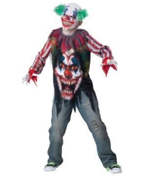 Big Top Terror Boy Costume