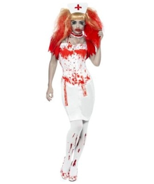 Blood Drip Nurse Costume