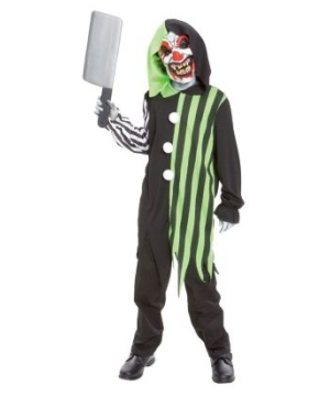 Cleaver Clown Boys Costume
