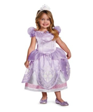 Sofia the First Disney Toddler/ Girls Costume deluxe
