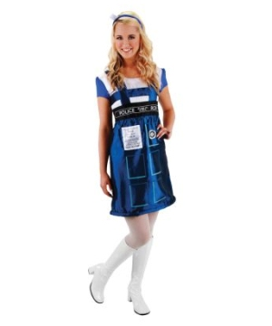 Doctor Who Tardis Womens Costume