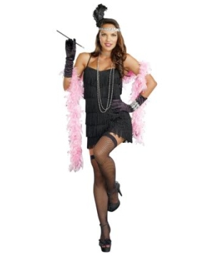Gorgeous Flapper Women Costume