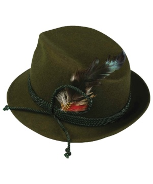 Green Oktoberfest Adult Hat