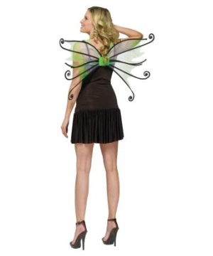 Green Spider Fairy Wings