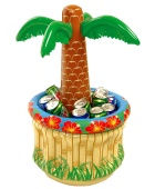 Hawaiian Palm Tree Table Cooler