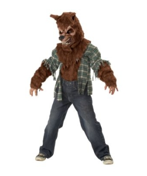 Howling At Moon Boys Costume