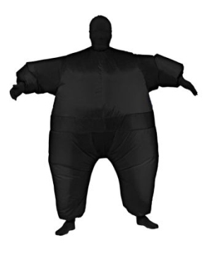 Inflatable Costume Black
