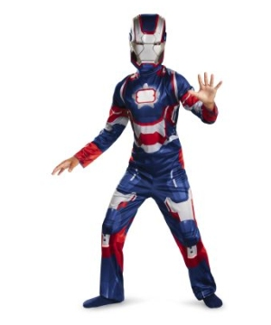 Iron Man Patriot Boys Costume