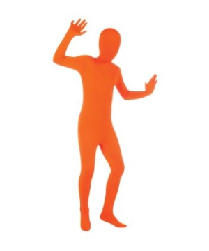 Kids Skin Suit Orange