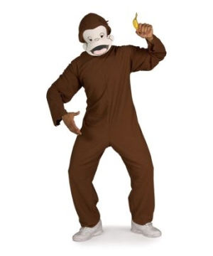 Curious George Mens Costume