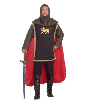 Valiant Medieval Knight Adult Costume