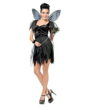Midnight Fairy Women Costume  sc 1 st  Wonder Costumes : fairy costume accessories  - Germanpascual.Com
