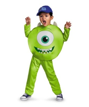 Monsters University Mike Boys Costume
