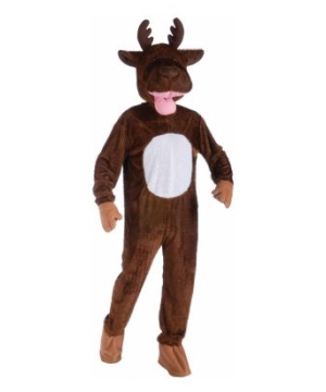 Moose Mascot Adult Costume