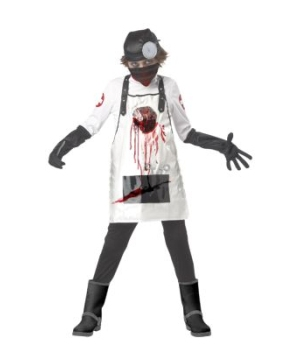 Open Heart Surgeon Boys Costume