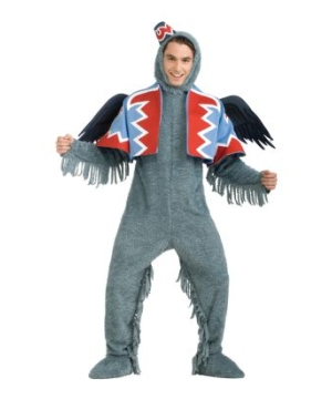 Oz Winged Monkey Men Costume