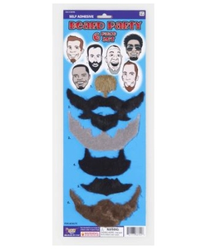 6 Piece Set Beard