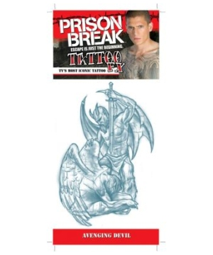 Prison Break Avenging Devil Adult Tattoo