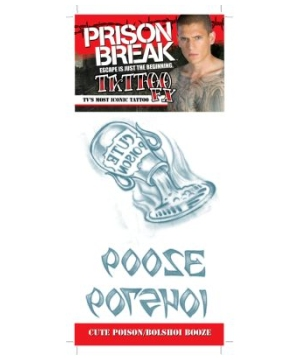 Prison Break Poison Bolshoi Tattoo