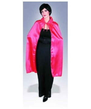 Red Adult Short Cape