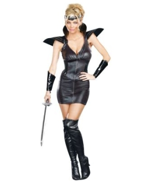 Warrior of Darkness Women Costume