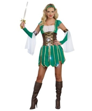 Warrior Elf Women Costume