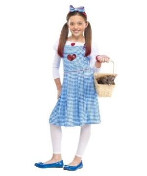 Wizard Oz Dorothy Girls Costume