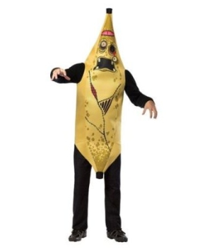 Zombie Banana Mens Costume
