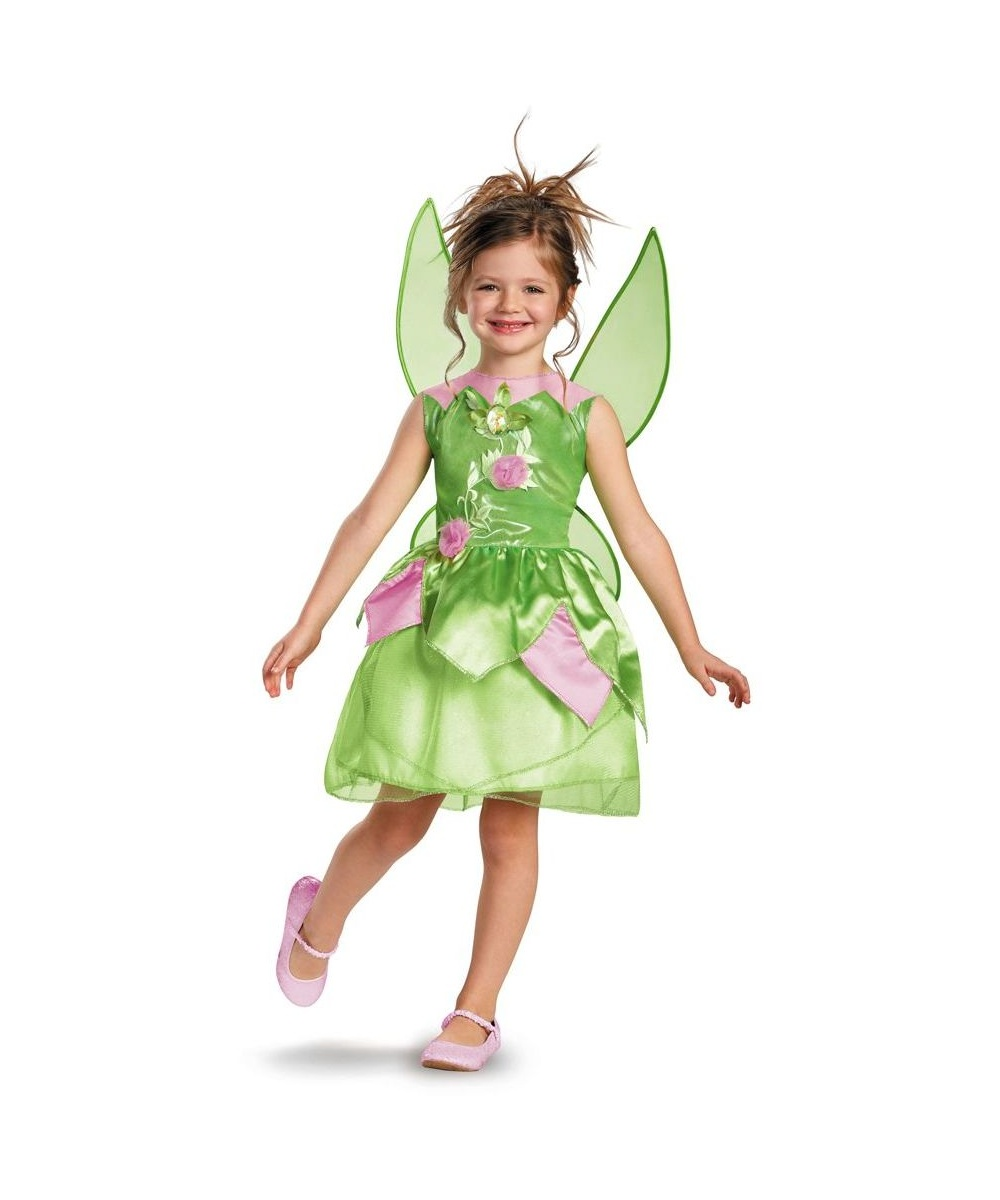 Tinker Bell Disney Girls Costume