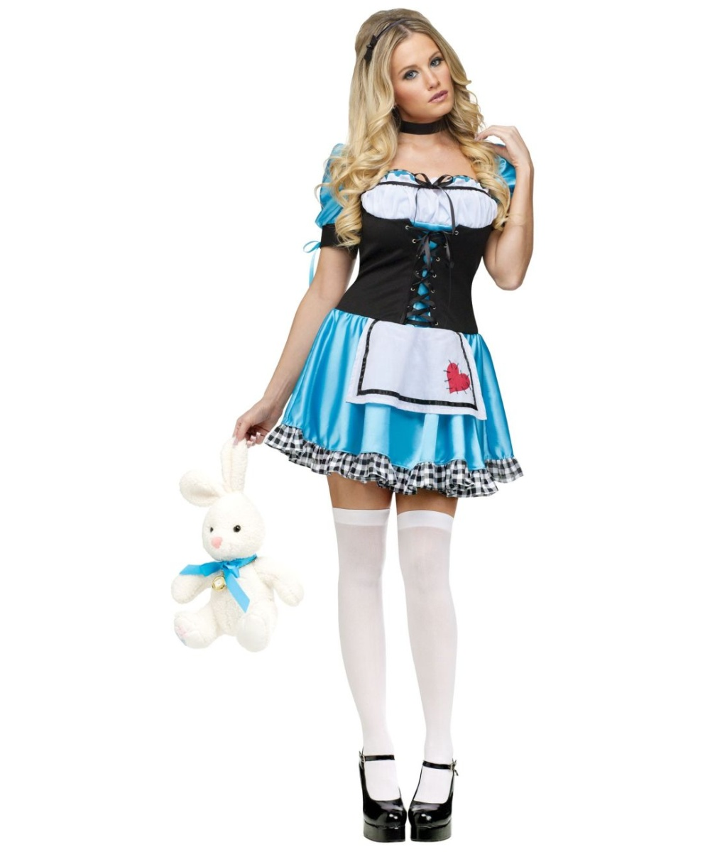 ee399510dd4 Alice Sexy Adult Costume - Women Alice Costumes