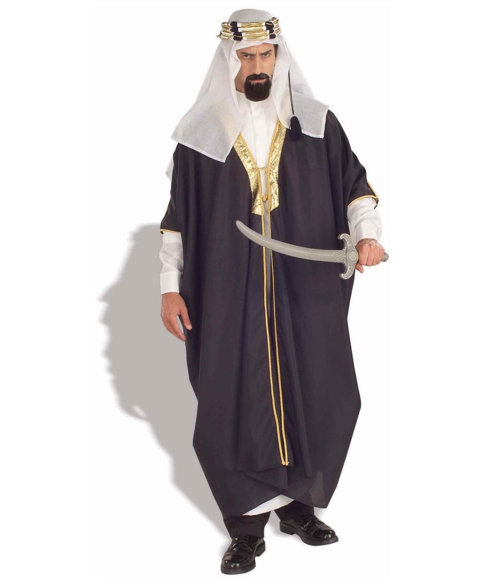 adult arab sheik halloween costume - men costumes