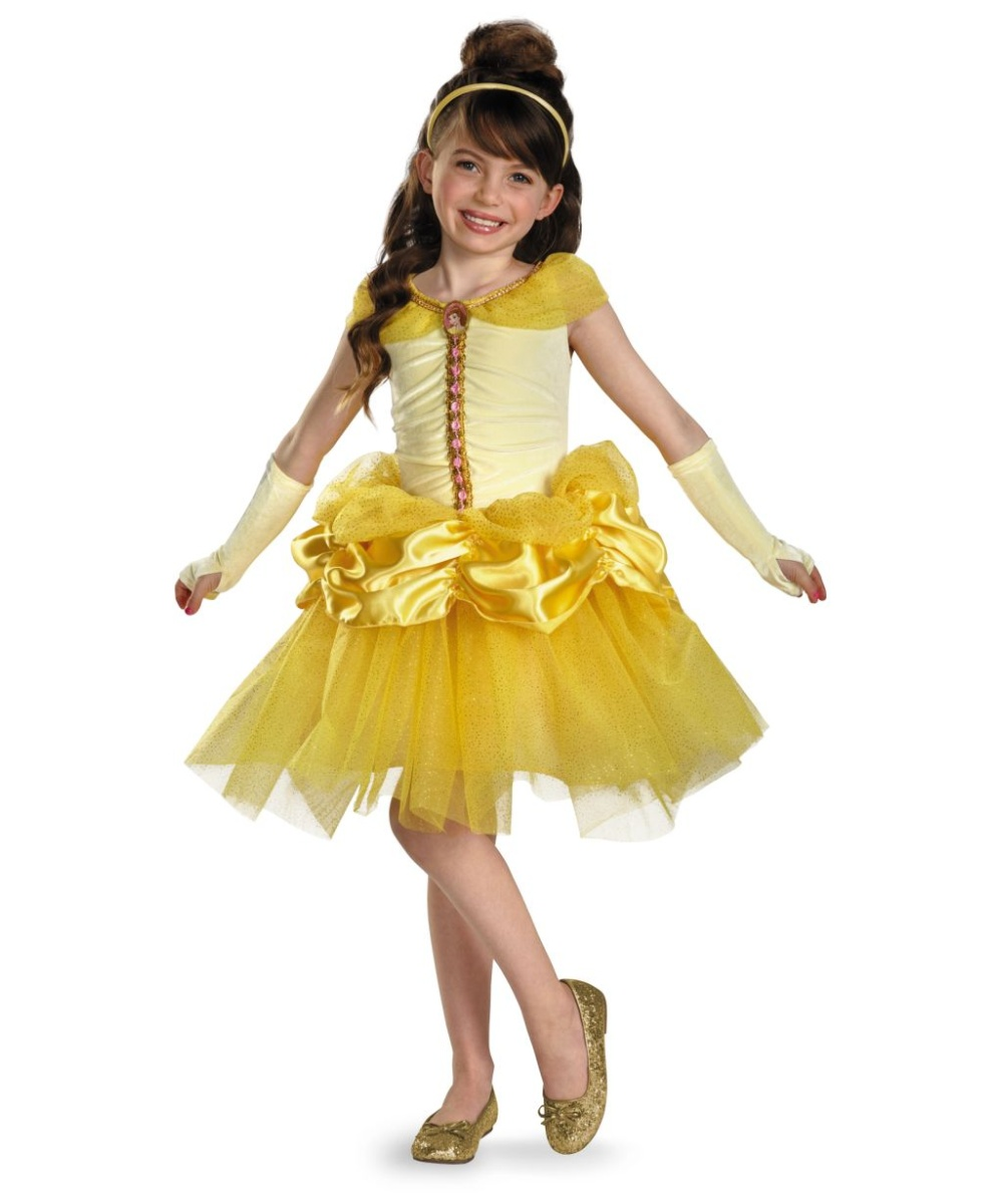 Belle Tutu Disney Girls Costume