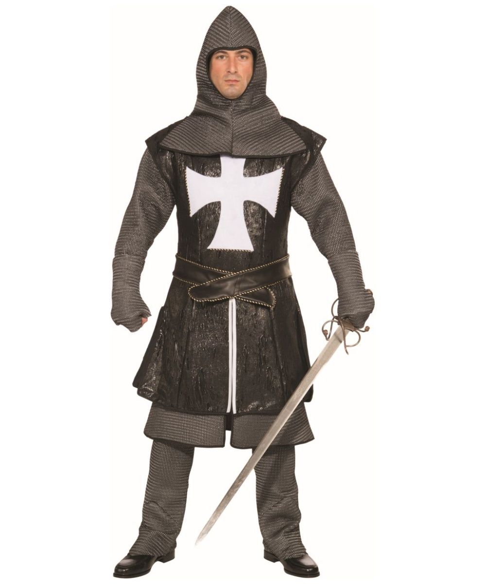 Adult Black Knight Costume - Men Costume Disney Princess Costumes For Women